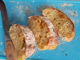 Мандариновый хлеб