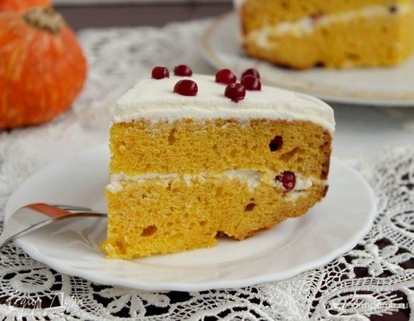 Медовый тыквенный пирог