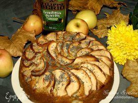 Яблочно-маковый пирог