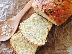 Полезный хлеб с булгуром и семечками