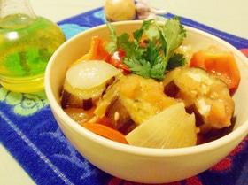 Овощное рагу с баклажанами по-арабски
