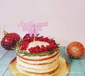 Торт по мотивам «Зимнее яблоко»