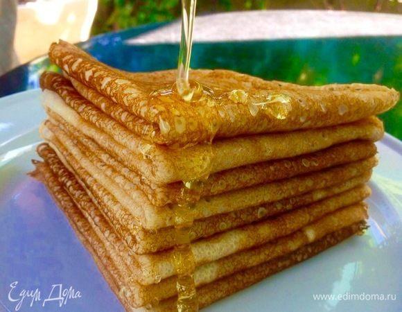 блины на кефире от юлии высоцкой рецепт