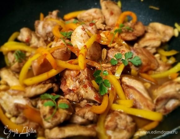 Курица гунбао (kung pao)