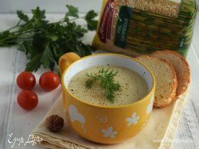 Суп-пюре из цветной капусты с рисом
