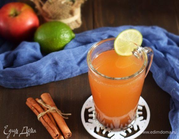 Пряный яблочный напиток