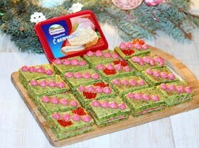 Закусочные пирожные с сыром