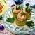 Роллы из огурца с креветками