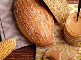 Кукурузный хлеб на закваске