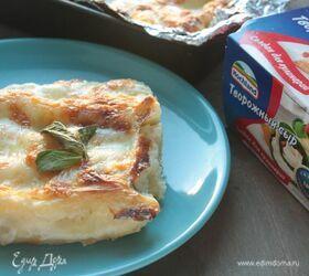 Каннеллони с сыром и шпинатом