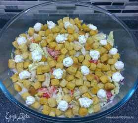Салат из пекинской капусты с курицей «Ревнивец»