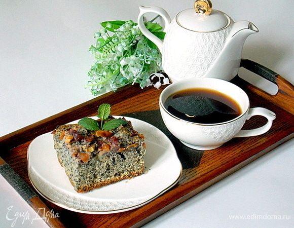 Пирог-суфле маковый