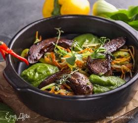Язычки ягнят с травами от шеф-повара ресторана Carne/Vino