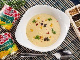 Кукурузный суп со сливками