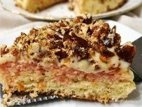 Мексиканский торт с крокантом из пекана