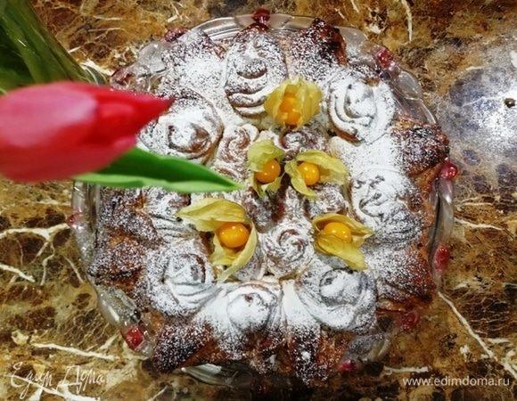 Королевская булка с финиками и лонганом