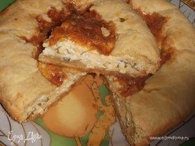 Пирог «3 сыра»
