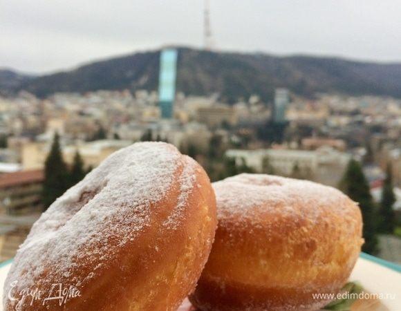 Итальянские пончики Bomboloni