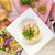 Салат оливье с чесночной курицей