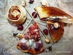Три пиццы из одного теста «Фестиваль»
