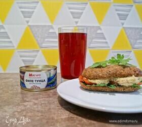 Закусочный паштет из тунца и нута
