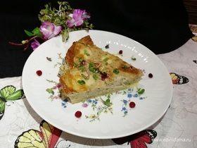 Быстрый пирог с печенью минтая