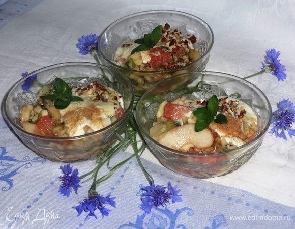 Фруктовый салат с булгуром