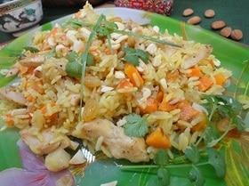 Рис с курицей «По-восточному»