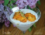 Йогуртовое мороженое с запеченными абрикосами