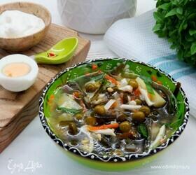 Суп из морской капусты