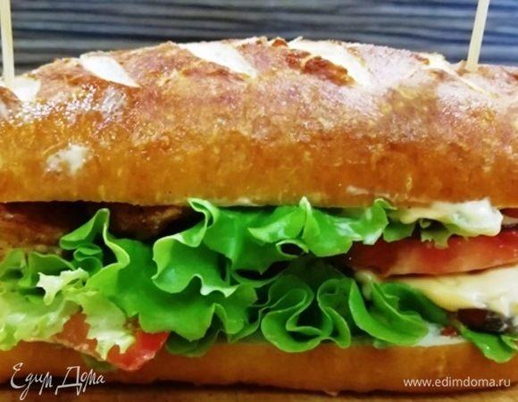 Заварные булочки для сэндвичей