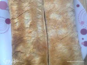 Скумбрия, запеченная в лаваше