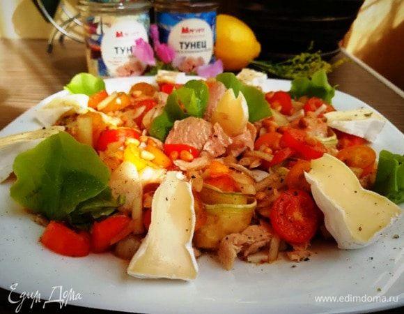 Пикантный салат с тунцом «Вдохновение»