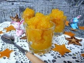 Морковно-апельсиновое сорбе
