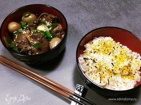 Куриная печень по-японски (рецепт японской мамы)