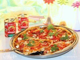 Пицца с жареным сладким перцем