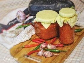Острая закуска из кабачков
