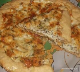 Открытый пирог с брынзой «Болгарский»