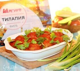 Рыбные фрикадельки в овощном соусе
