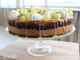 Творожно-маковый пирог «Сыромак»