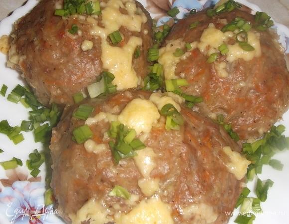 Картофельные «бомбочки» с фаршем