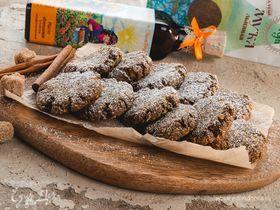 Имбирное печенье из льняной муки