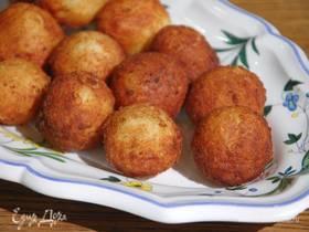 Картофельные пышки с сыром