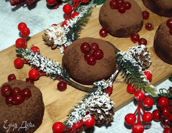 Пирожное без выпечки с грецкими орехами