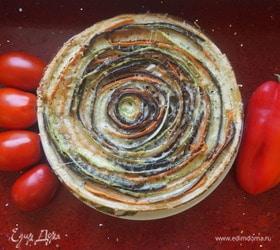 Пирог «Овощное трио»