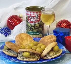 Закуска «Тарталетка с жемчужиной»