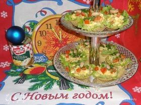 Салат «До-ре-ми-фасоль»