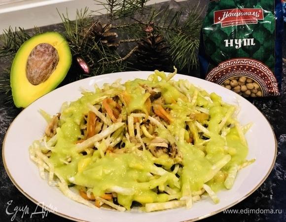 Архиерейский салат с майонезом «Аквафабе»