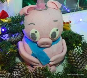 Торт «Новогодний поросенок»