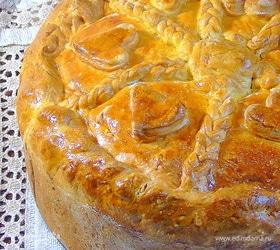 Пирог с потрохами